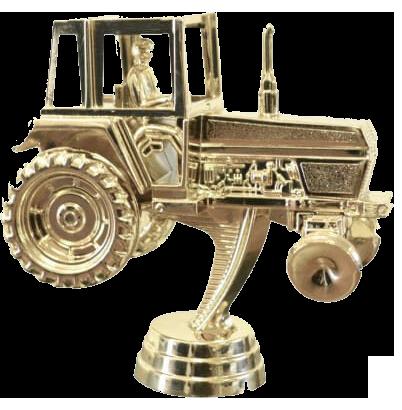 trophies tractor figurine
